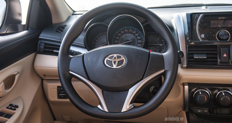 Đánh giá Toyota Vios 2016: Ấn tượng từ hộp số và cảm giác lái - Hình 15