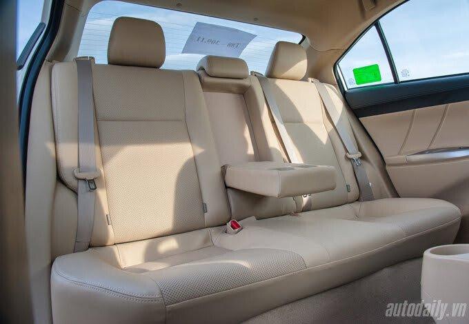 Đánh giá Toyota Vios 2016: Ấn tượng từ hộp số và cảm giác lái - Hình 21