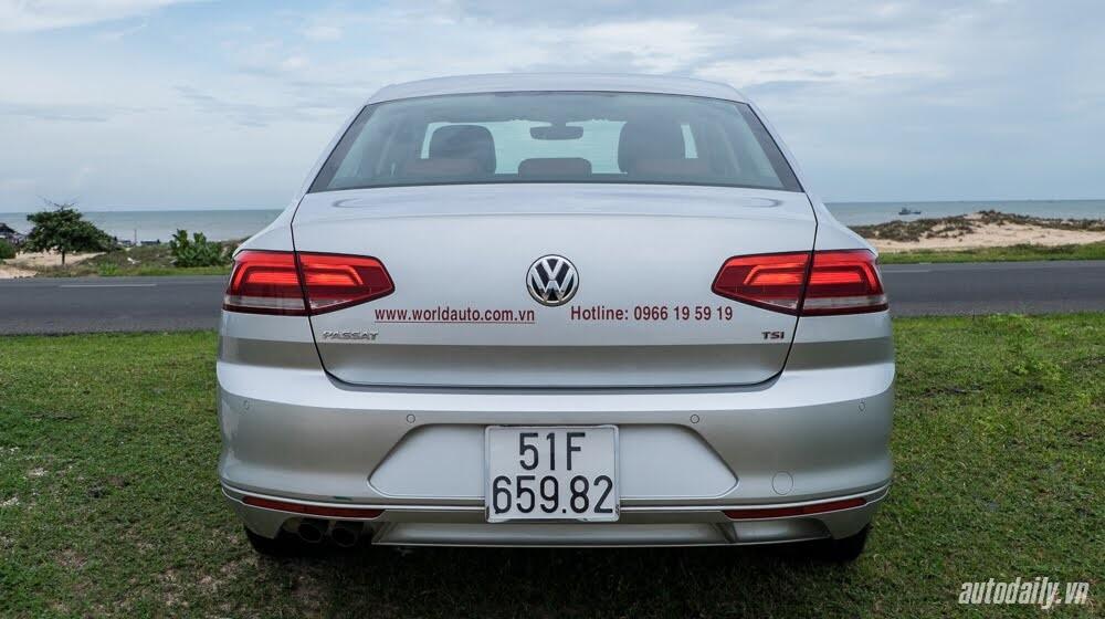Đánh giá Volkswagen Passat 2016 – Sedan hạng D cho người trẻ - Hình 4
