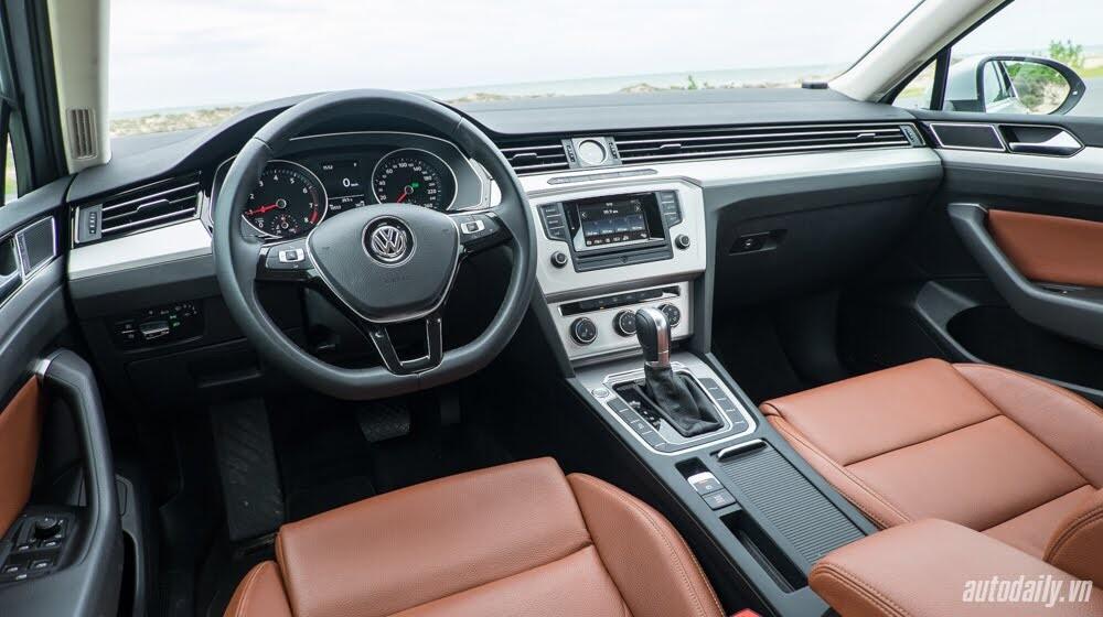 Đánh giá Volkswagen Passat 2016 – Sedan hạng D cho người trẻ - Hình 6