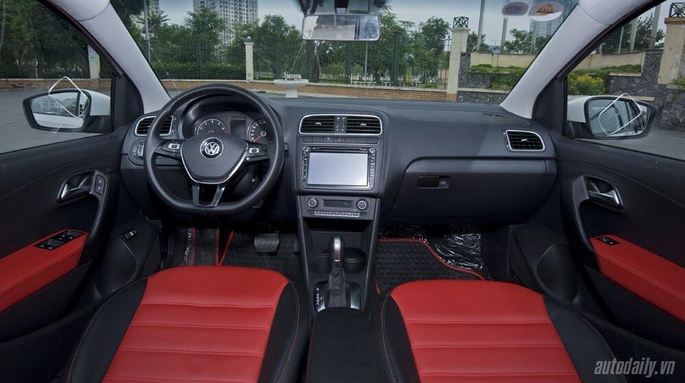 """Đánh giá Volkswagen Polo: Sedan đậm """"chất"""" Đức - Hình 6"""