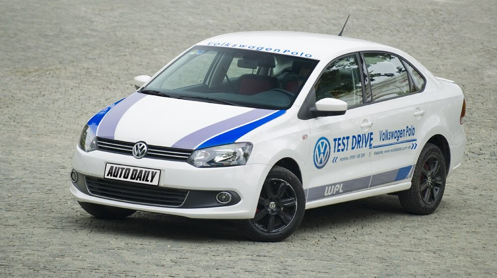 """Đánh giá Volkswagen Polo: Sedan đậm """"chất"""" Đức - Hình 10"""