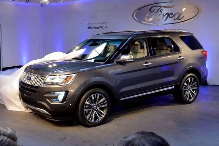 """Đánh Giá Xe Ford Explorer 2016 - mạnh mẽ và """"siêu"""" tiết kiệm nhiên liệu - Hình 5"""