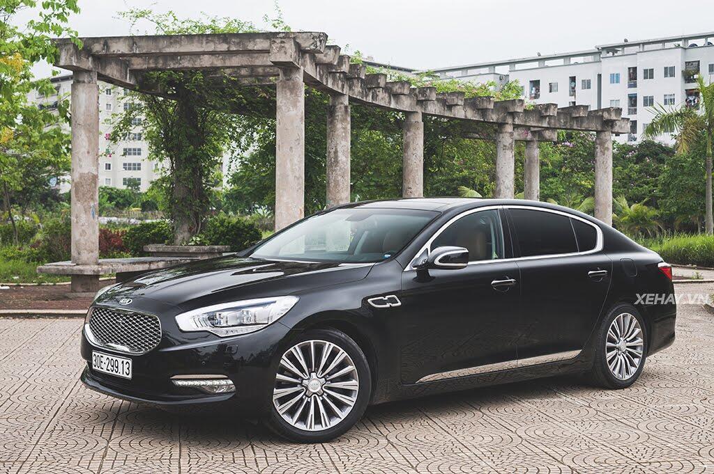 Đánh Giá Xe Kia Quoris 2017 - Bước chân vào lãnh địa xe sang - Hình 5
