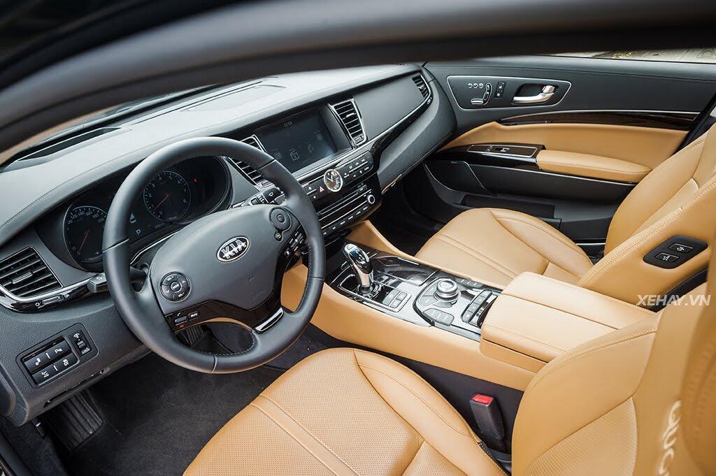 Đánh Giá Xe Kia Quoris 2017 - Bước chân vào lãnh địa xe sang - Hình 6
