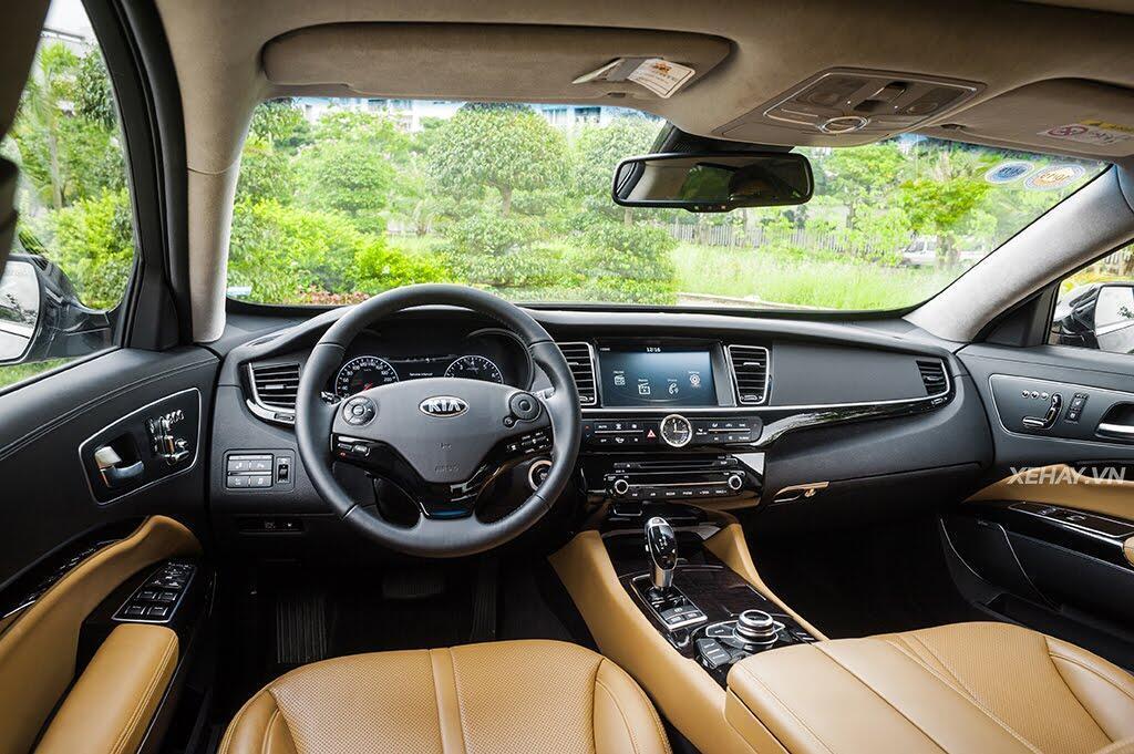 Đánh Giá Xe Kia Quoris 2017 - Bước chân vào lãnh địa xe sang - Hình 15
