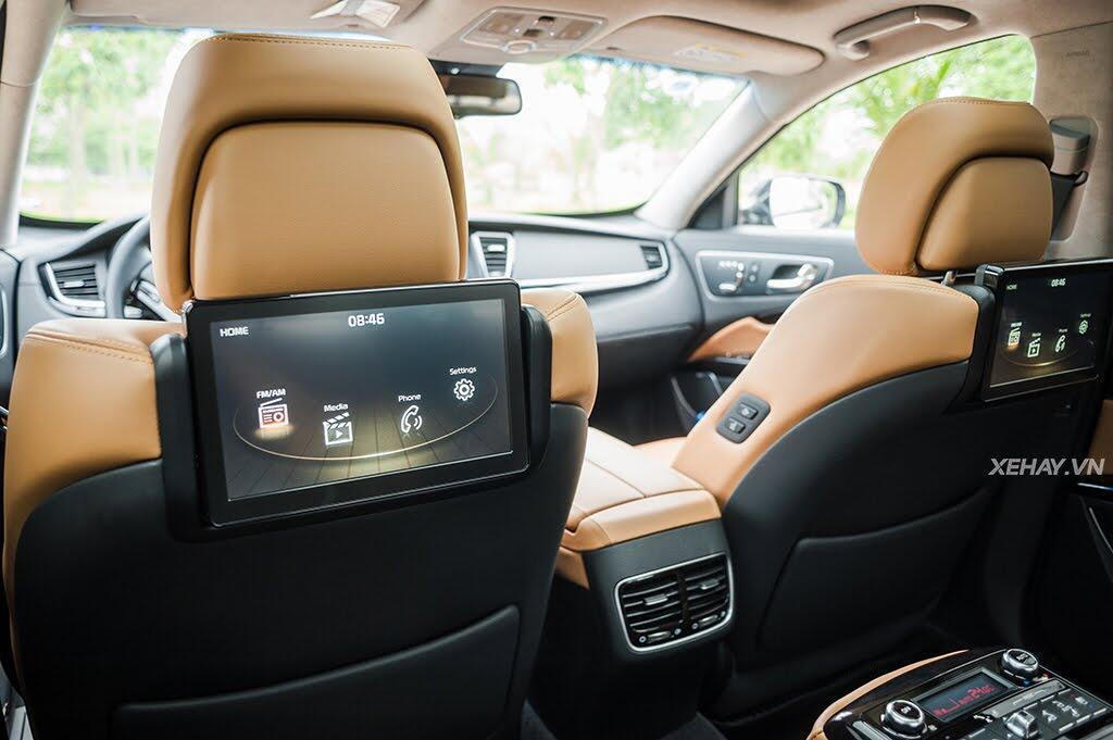 Đánh Giá Xe Kia Quoris 2017 - Bước chân vào lãnh địa xe sang - Hình 21