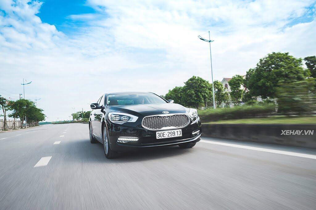 Đánh Giá Xe Kia Quoris 2017 - Bước chân vào lãnh địa xe sang - Hình 29