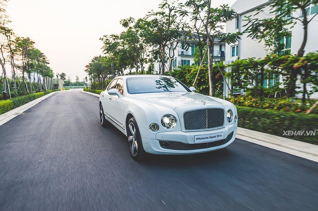 [ĐÁNH GIÁ XE] Mulsanne Speed 2016 - Thuần khiết Bentley - Hình 27