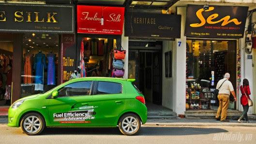 """Đánh giá xe nhỏ Mirage – """"Vũ khí mới"""" của Mitsubishi - Hình 1"""