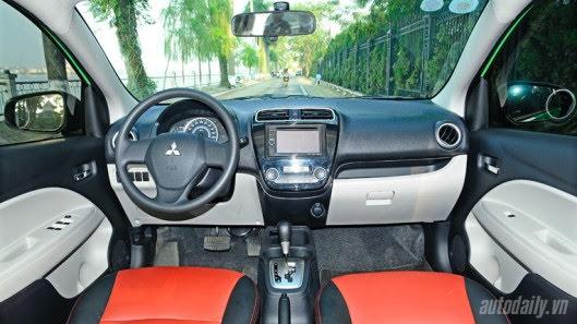 """Đánh giá xe nhỏ Mirage – """"Vũ khí mới"""" của Mitsubishi - Hình 9"""
