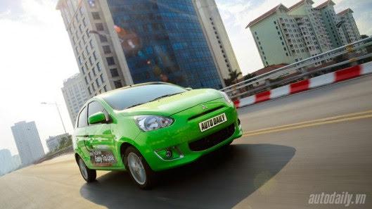 """Đánh giá xe nhỏ Mirage – """"Vũ khí mới"""" của Mitsubishi - Hình 16"""