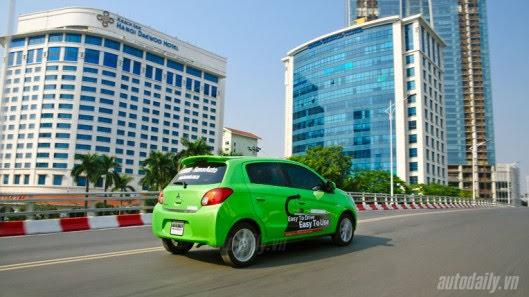"""Đánh giá xe nhỏ Mirage – """"Vũ khí mới"""" của Mitsubishi - Hình 21"""