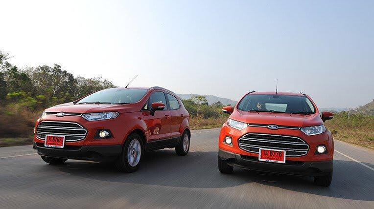 Đánh giá xe nhỏ, tiết kiệm: Ford EcoSport - Hình 1