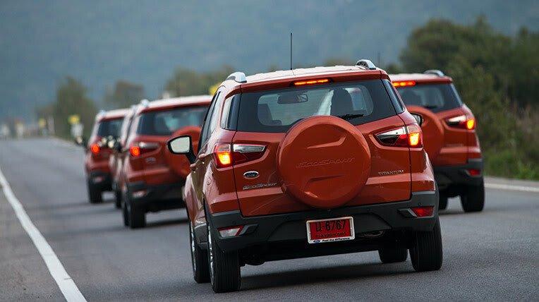 Đánh giá xe nhỏ, tiết kiệm: Ford EcoSport - Hình 2