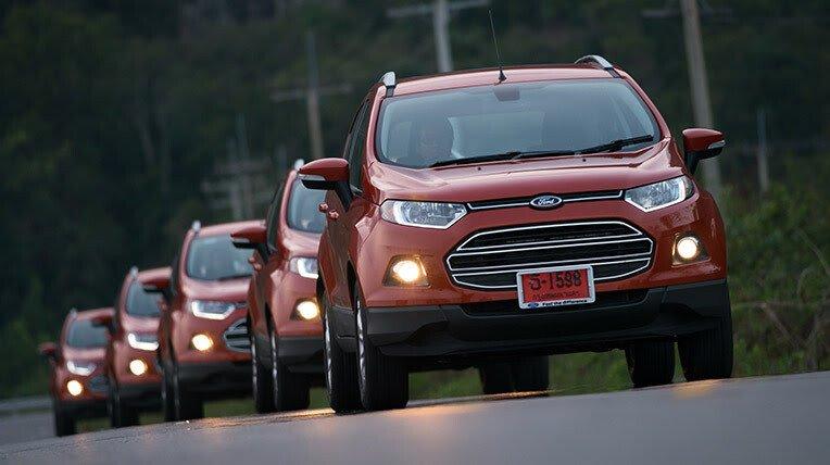 Đánh giá xe nhỏ, tiết kiệm: Ford EcoSport - Hình 3