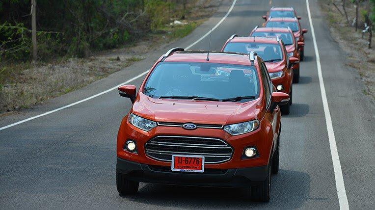 Đánh giá xe nhỏ, tiết kiệm: Ford EcoSport - Hình 4