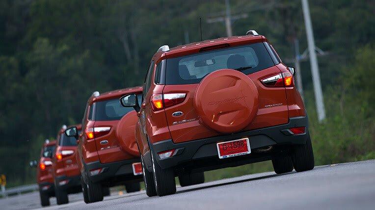 Đánh giá xe nhỏ, tiết kiệm: Ford EcoSport - Hình 13