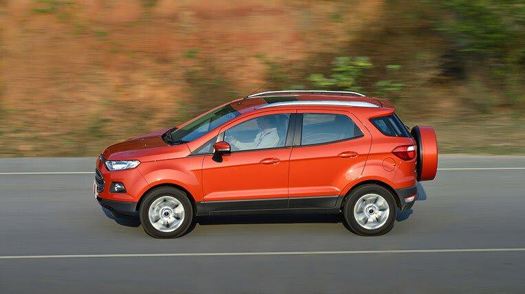 Đánh giá xe nhỏ, tiết kiệm: Ford EcoSport - Hình 14