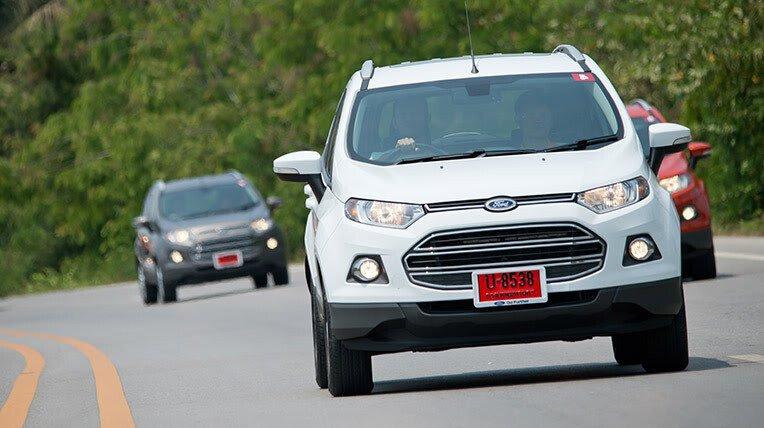 Đánh giá xe nhỏ, tiết kiệm: Ford EcoSport - Hình 15