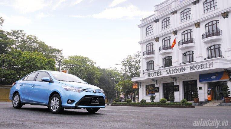 Đánh giá xe nhỏ Toyota Vios 2014 - Hình 2