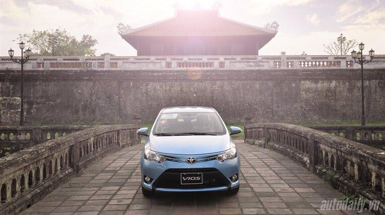 Đánh giá xe nhỏ Toyota Vios 2014 - Hình 3