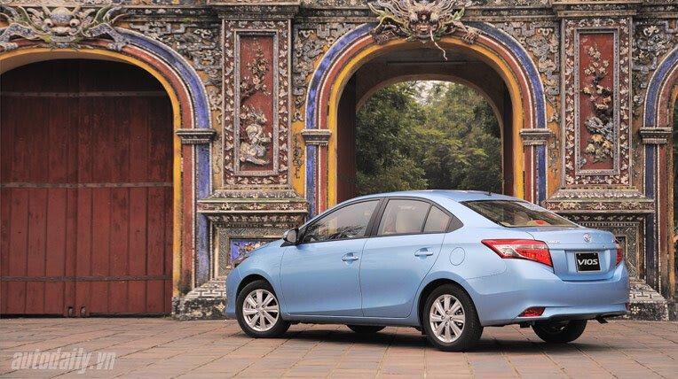 Đánh giá xe nhỏ Toyota Vios 2014 - Hình 4