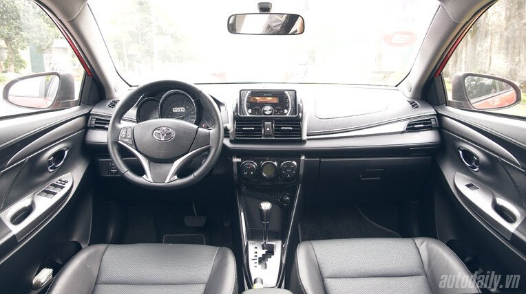 Đánh giá xe nhỏ Toyota Vios 2014 - Hình 5