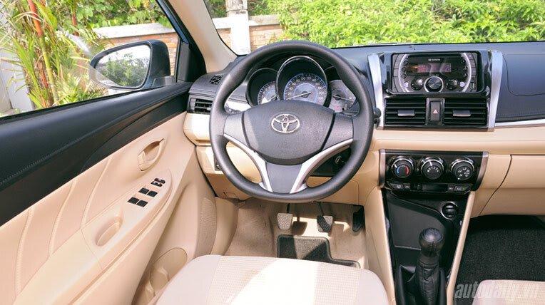 Đánh giá xe nhỏ Toyota Vios 2014 - Hình 6