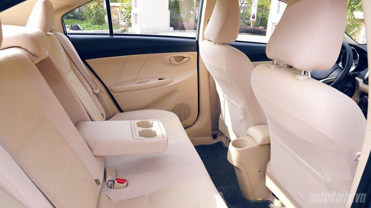 Đánh giá xe nhỏ Toyota Vios 2014 - Hình 8