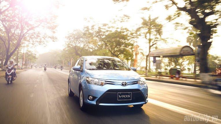 Đánh giá xe nhỏ Toyota Vios 2014 - Hình 10