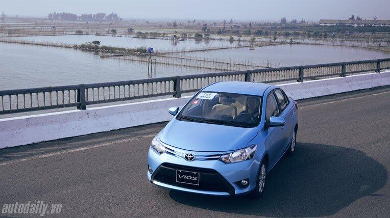 Đánh giá xe nhỏ Toyota Vios 2014 - Hình 13