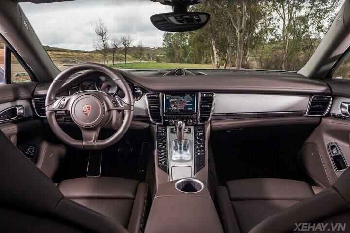 ĐÁNH GIÁ XE Porsche Panamera 2016 - Cải tiến mới, tùy chọn mới dành cho khách hàng - Hình 9