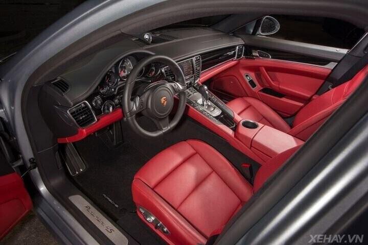 ĐÁNH GIÁ XE Porsche Panamera 2016 - Cải tiến mới, tùy chọn mới dành cho khách hàng - Hình 21