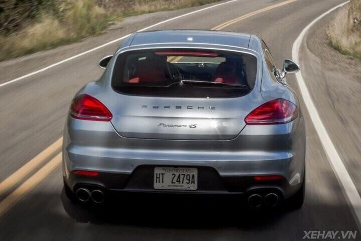 ĐÁNH GIÁ XE Porsche Panamera 2016 - Cải tiến mới, tùy chọn mới dành cho khách hàng - Hình 36