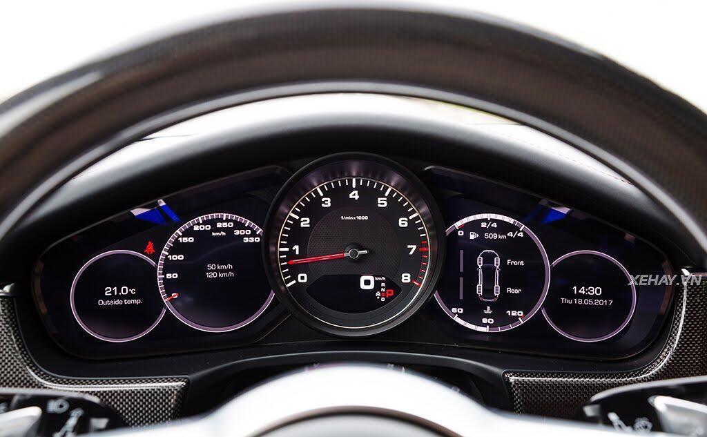 [ĐÁNH GIÁ XE] Porsche Panamera 4S 2017 - chiếc coupe bốn cửa thuần chất - Hình 15