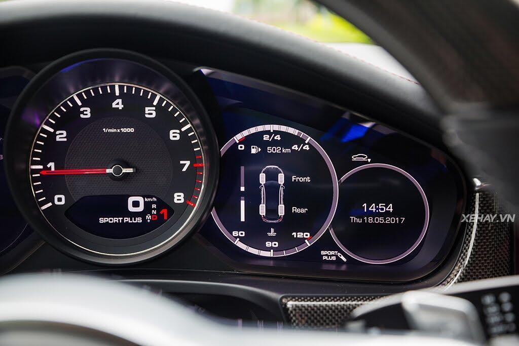 [ĐÁNH GIÁ XE] Porsche Panamera 4S 2017 - chiếc coupe bốn cửa thuần chất - Hình 35
