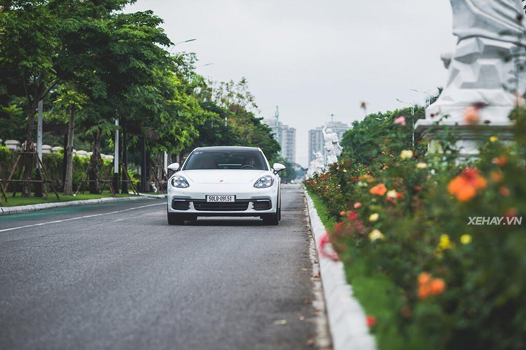 [ĐÁNH GIÁ XE] Porsche Panamera 4S 2017 - chiếc coupe bốn cửa thuần chất - Hình 36