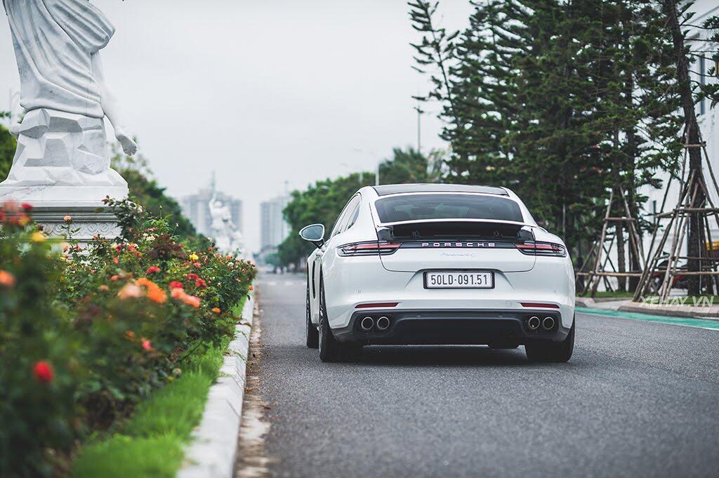 [ĐÁNH GIÁ XE] Porsche Panamera 4S 2017 - chiếc coupe bốn cửa thuần chất - Hình 39
