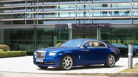 Đánh giá xe siêu sang - Rolls-Royce Wraith 2014 - Hình 1