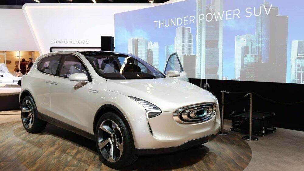 Diện kiến Thunder Power concept - mẫu SUV điện có thiết kế khác lạ của Đài Loan - Hình 1