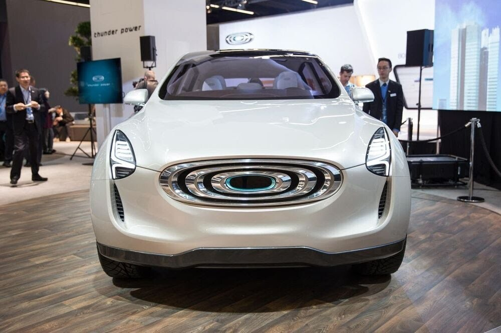 Diện kiến Thunder Power concept - mẫu SUV điện có thiết kế khác lạ của Đài Loan - Hình 2