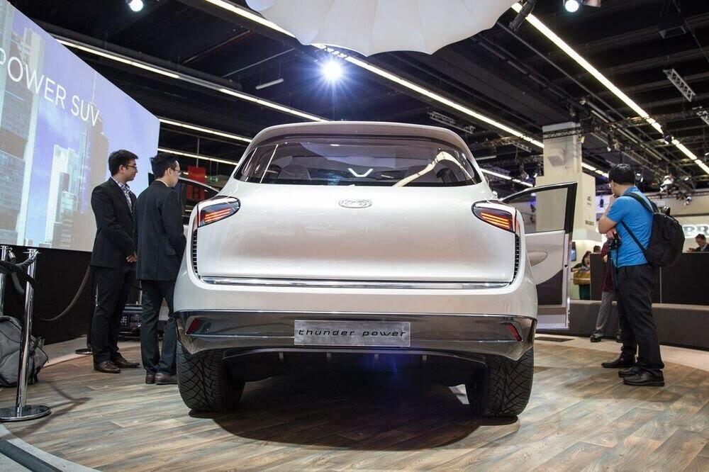 Diện kiến Thunder Power concept - mẫu SUV điện có thiết kế khác lạ của Đài Loan - Hình 5