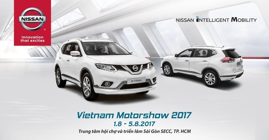 Diện mạo hoàn toàn mới của Nissan tại Vietnam Motor Show 2017 - Hình 2