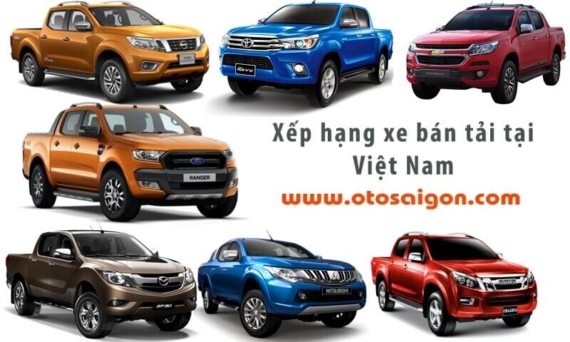 Doanh số bán tải tháng 07/2017: Toyota Hilux và Isuzu D-Max thê thảm - Hình 1