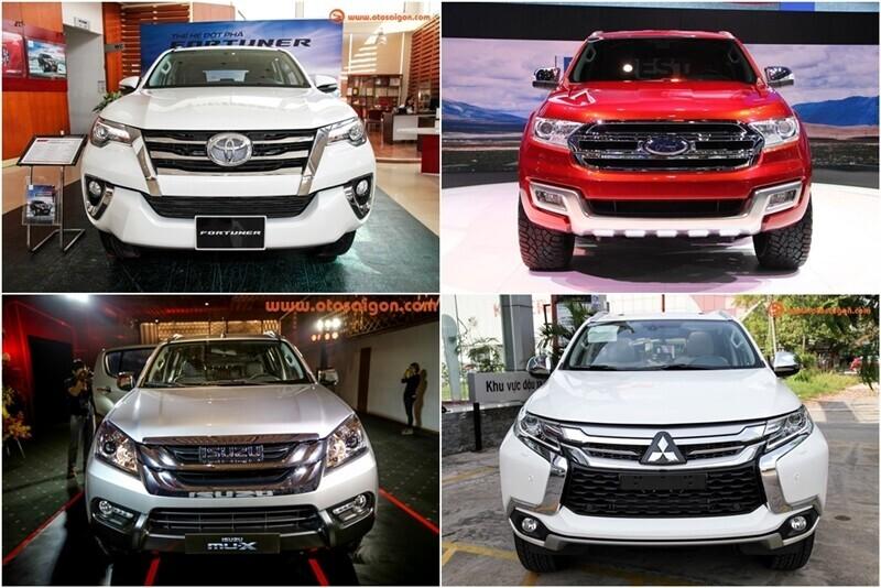 Doanh số xe SUV 7 chỗ tại Việt Nam tháng 07/2017: Fortuner vẫn dẫn đầu - Hình 1