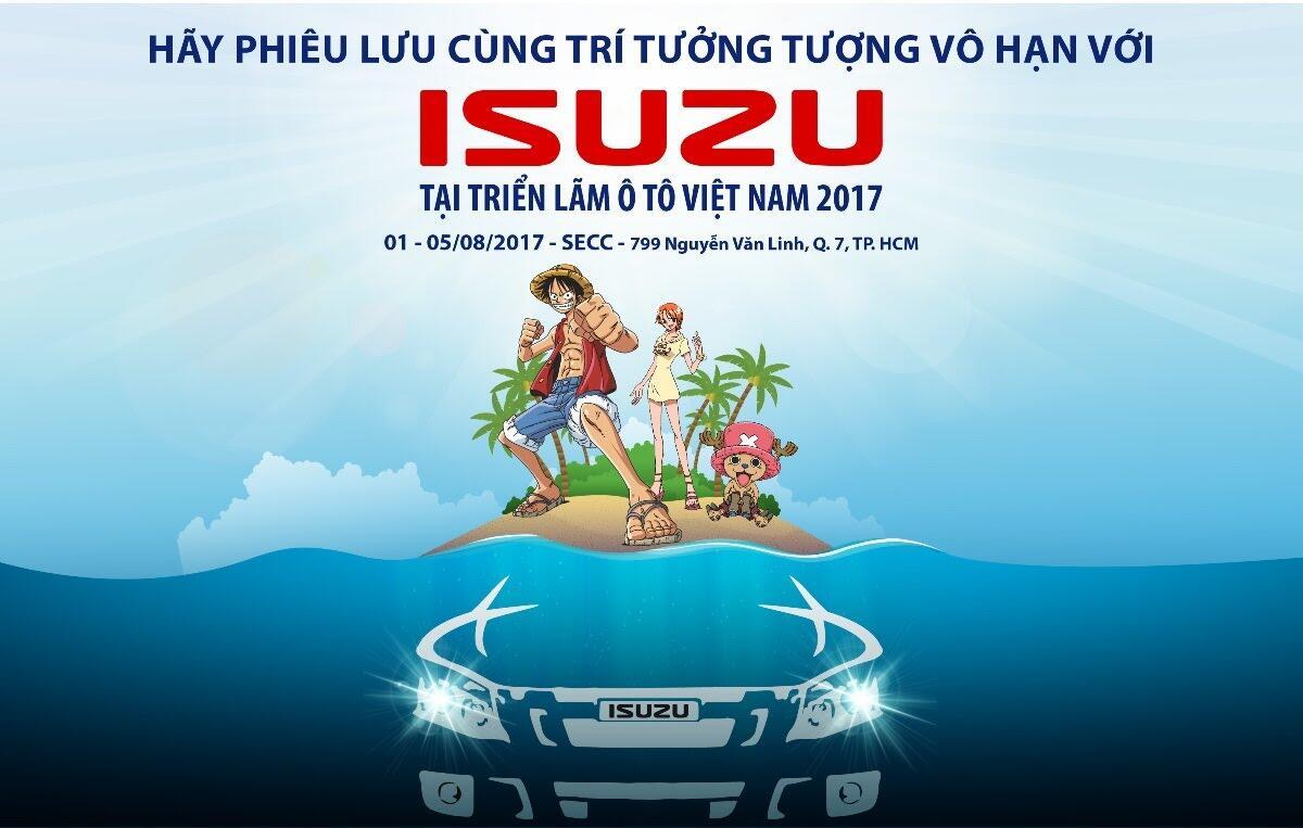 """Dự đoán về """"át chủ bài"""" bí ẩn của Isuzu tại triển lãm ô tô Việt Nam 2017? - Hình 2"""