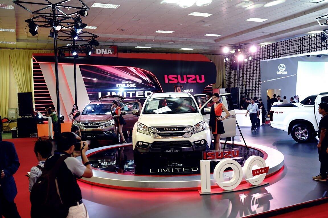 """Dự đoán về """"át chủ bài"""" bí ẩn của Isuzu tại triển lãm ô tô Việt Nam 2017? - Hình 3"""