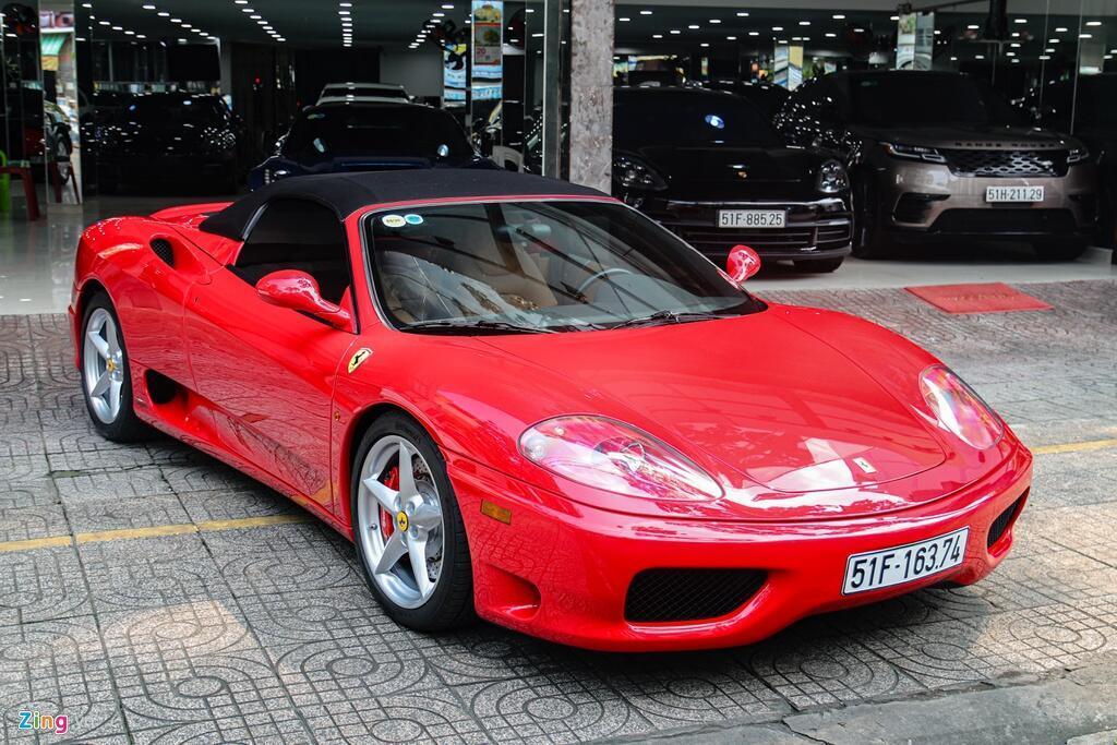 Ferrari 360 Spider tung cua ong Dang Le Nguyen Vu tai xuat tai TP.HCM hinh anh 2 Ferrari_360_Spider_zing_15_.jpg