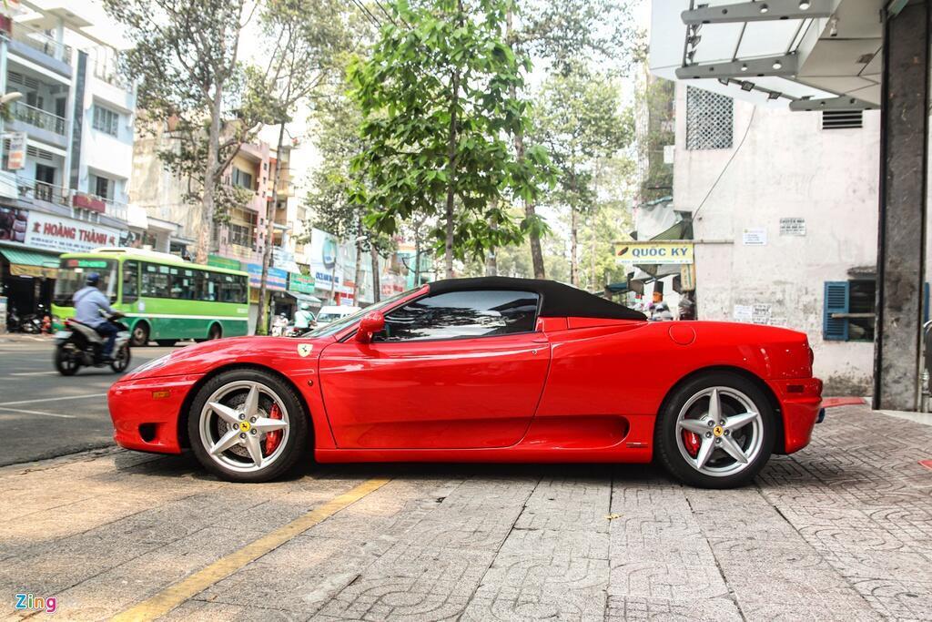Ferrari 360 Spider tung cua ong Dang Le Nguyen Vu tai xuat tai TP.HCM hinh anh 4 Ferrari_360_Spider_zing_18_.jpg